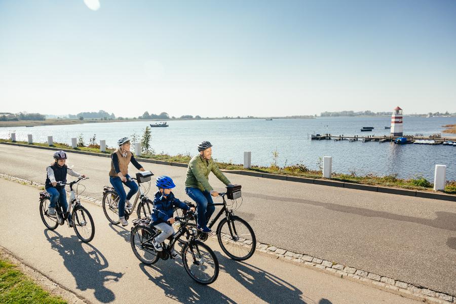 Fahrrad fahren auf Ummanz