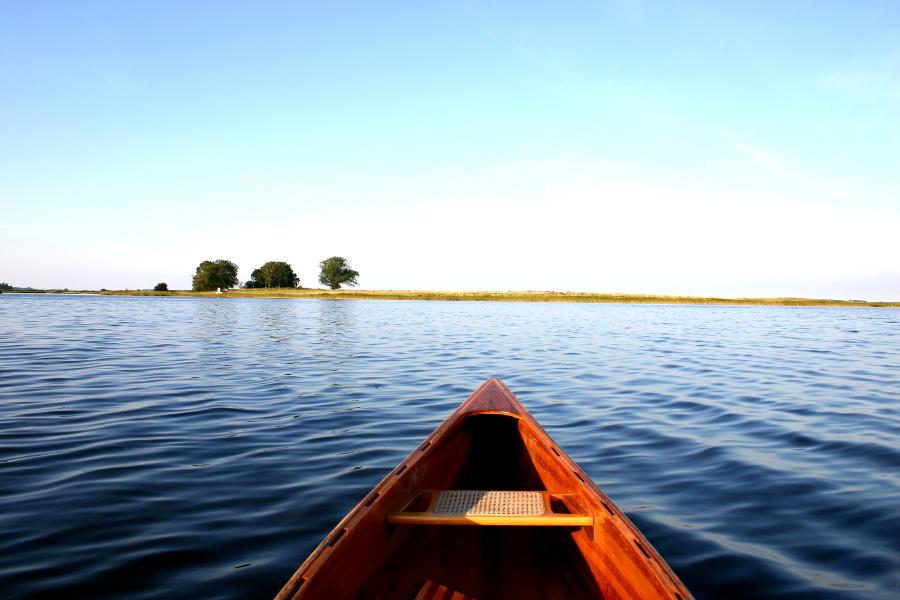 Kanu fahren um Ummanz