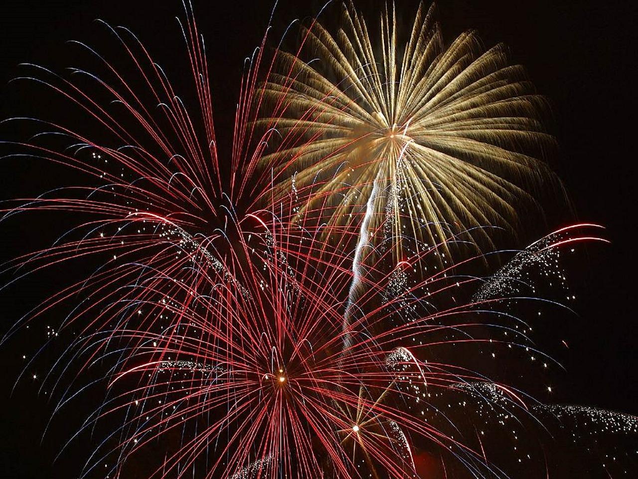 Silvester Feuerwerk uf Ummanz