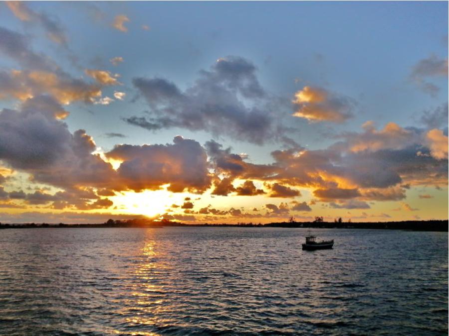 Wolkenbilder Ummanz im Oktober