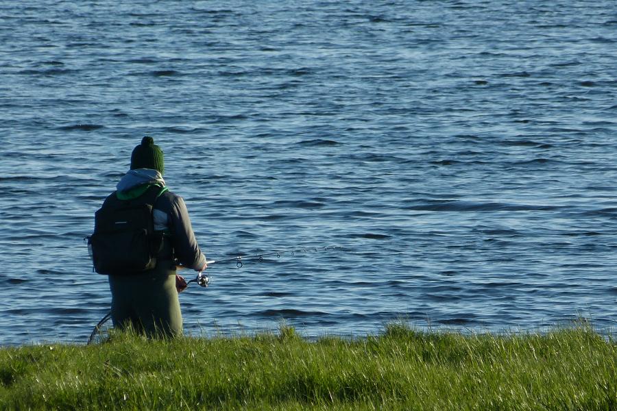 Angler auf Ummanz