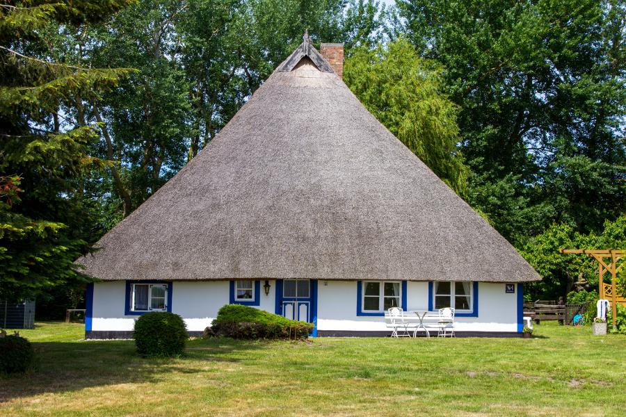 niederdeutsches Hallenhaus auf Ummanz