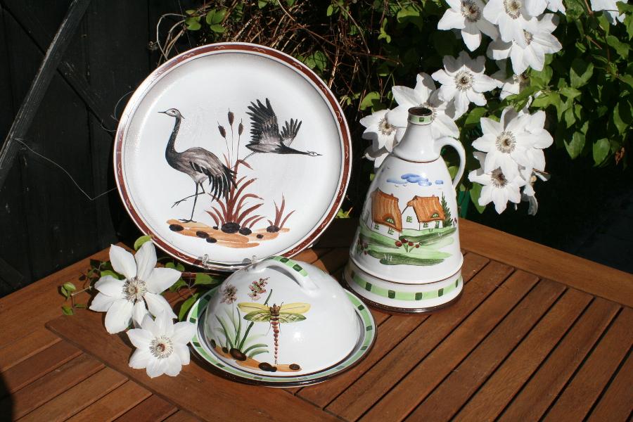 Motive der Ummanz Keramik