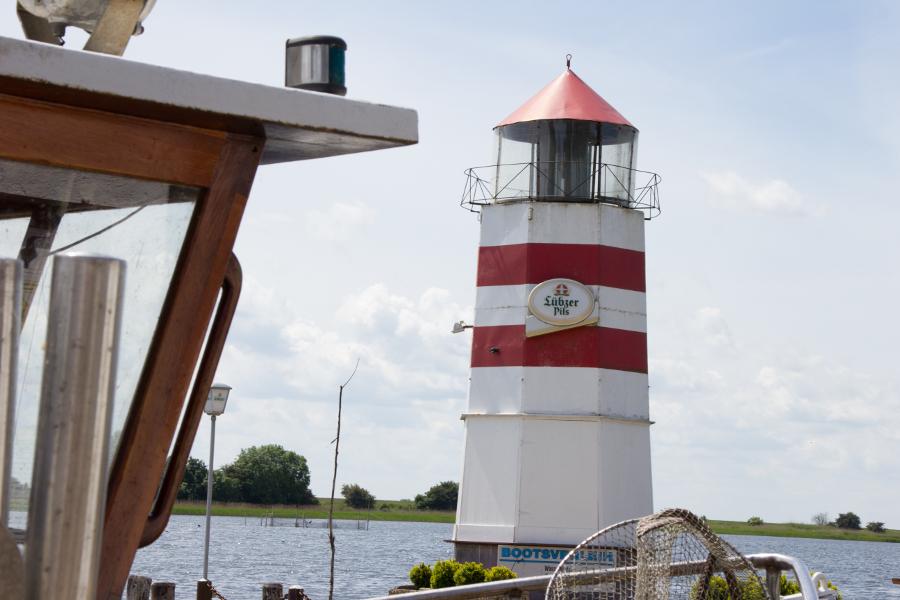 Leuchtturm am Focker Strom Ummanz