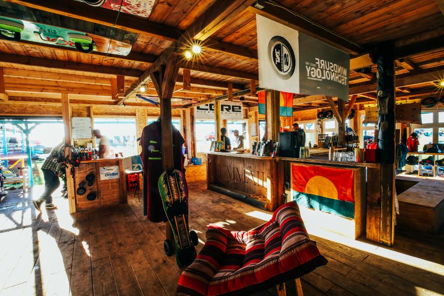 Surfshop und Surfbasis auf Ummanz
